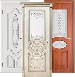 Каталог межкомнатных дверей серии Классика, классические двери